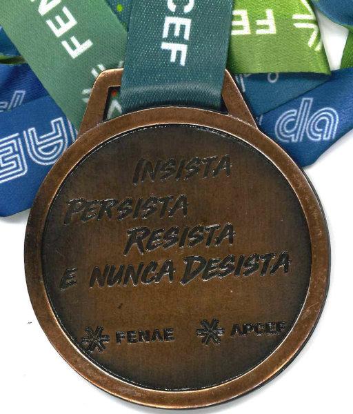 Medalha de Participação/Verso
