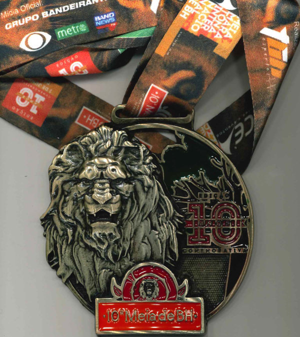 Medalha de Participação Comemorativa de 10 Anos