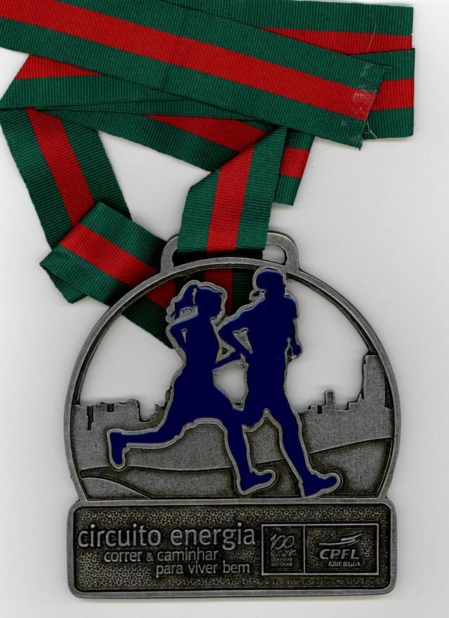 Medalha aproveitada de outro evento