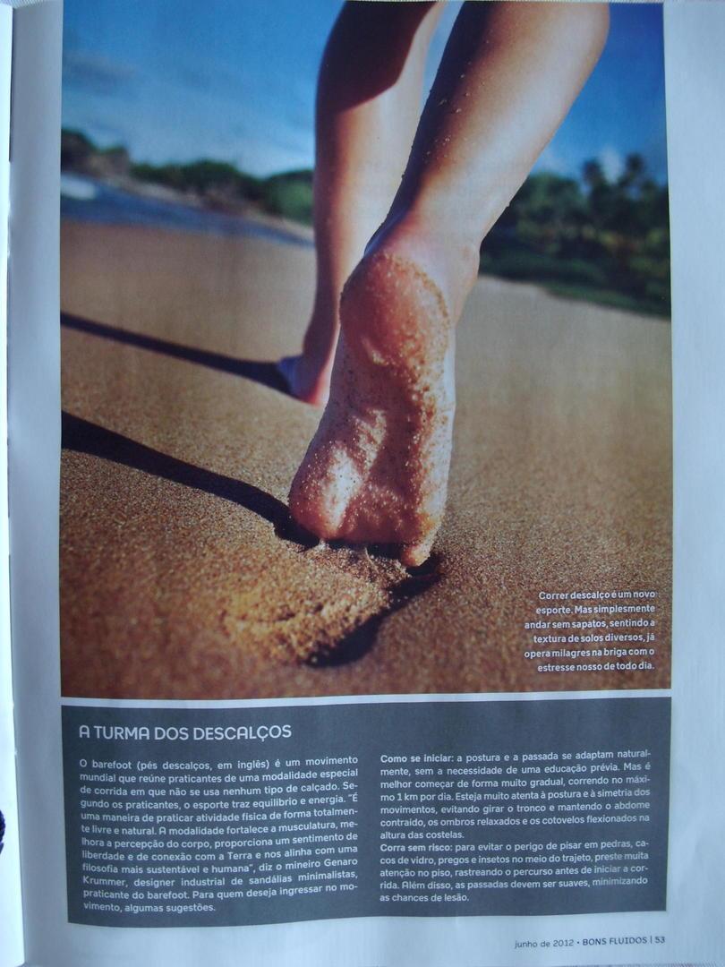 Genaro Krummer criador das sandálias Kobra foi entrevistado
