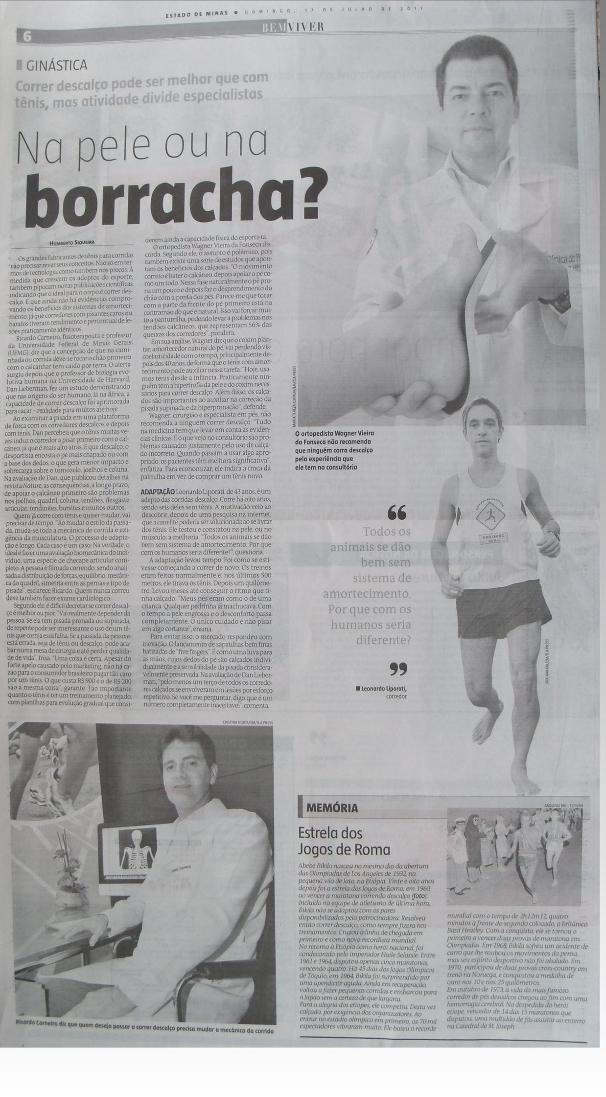 Leonardo Humberto Liporati foi entrevistado