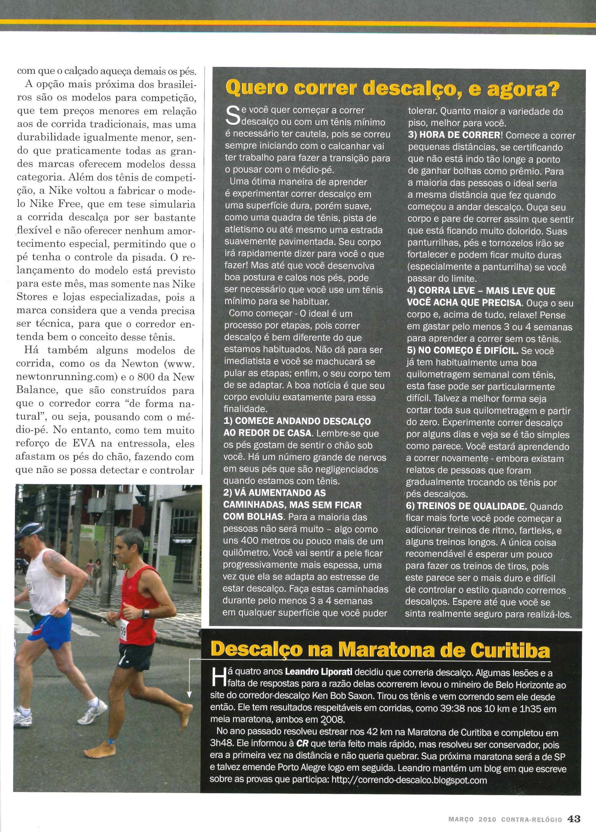 (pág.43) - Leandro Liporati (sic) é destaque